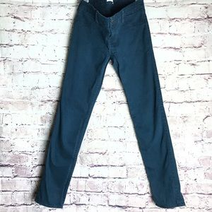 Abercrombie girls navy skinny pants